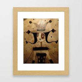 Reine des jeux d'échecs Framed Art Print