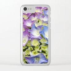 AZISAI/紫陽花 Clear iPhone Case
