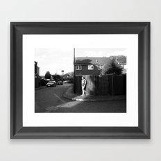 In my street Framed Art Print