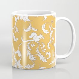 Squirrels and Acorns Pattern Coffee Mug