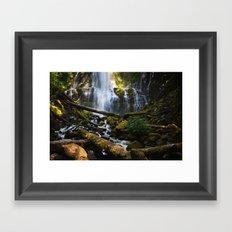 Lower Proxy Falls Framed Art Print