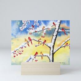 Winter Song 2 Mini Art Print