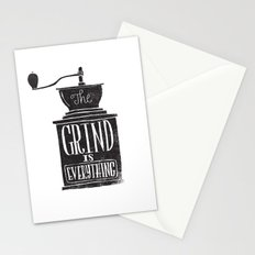 the daily grind Stationery Cards