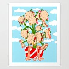 Van Gobble Art Print