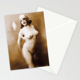 Digital Pinup Painting Stationery Cards