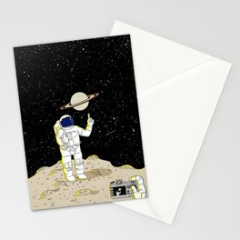 Posing Astronaut  Stationery Cards