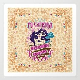 My Catrina Art Print