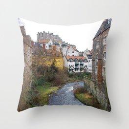 Water of Leith Edinburgh 3 Throw Pillow