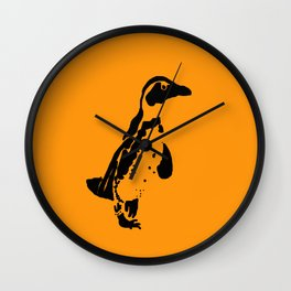 Penguin Patches Wall Clock