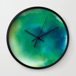 Ethereal Green Wall Clock