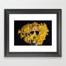 Can You Find the Origami Daffadil? Framed Art Print