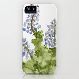 Icelandic Lupine iPhone Case