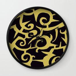 GOLD METAL Wall Clock