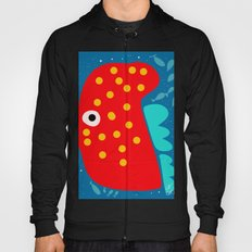 Red Fish illustration for kids Hoody