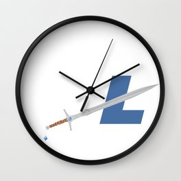 LTC SWORD Wall Clock