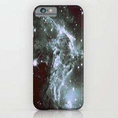 Steel Blue Galaxy : Monkey Head Nebula Slim Case iPhone 6s