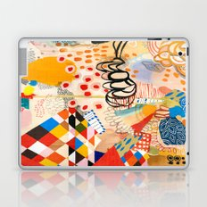 Wallpaper and Diamonds Part II Laptop & iPad Skin