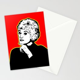 Bea Arthur | Golden Girl | Pop Art Stationery Cards