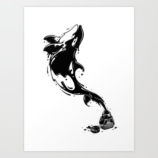 Great Leap Art Print
