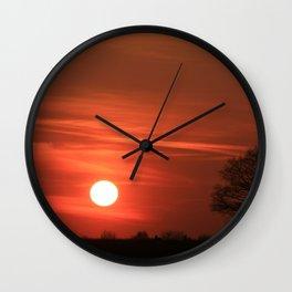 Good Morning 7.01am Wall Clock