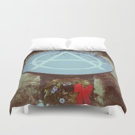 Until Death  Duvet Cover