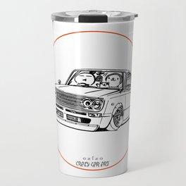 Crazy Car Art 0219 Travel Mug