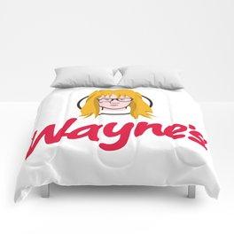 WAYNE'S SINGLE #2 Comforters