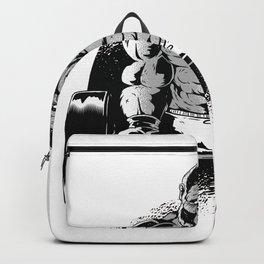 gorilla dumbbell  Backpack