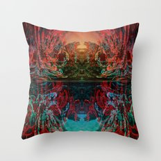 The Lake of Pure Mind Throw Pillow