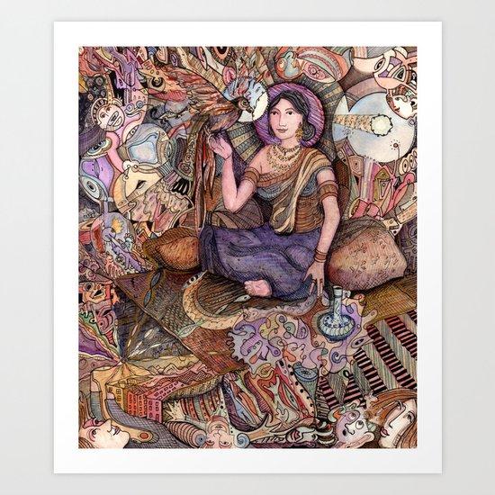 Sheherazade  Art Print