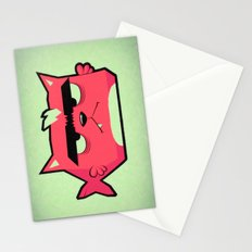 Cat-Fish Stationery Cards