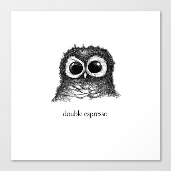double espresso Canvas Print