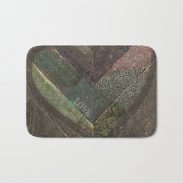 Weathered Love Bath Mat