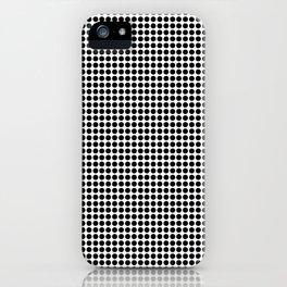 Half Tone Spots iPhone Case