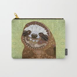 Smiling Sloth Carry-All Pouch