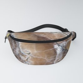 Marble Paint Formation Fanny Pack