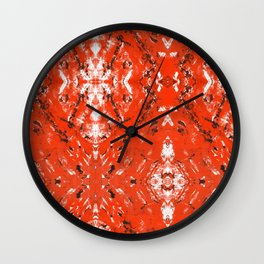 An Orange Nation Wall Clock