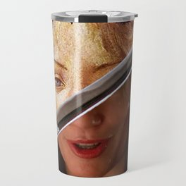 Kill Bill's Elle Driver & Botticelli's Flora Travel Mug