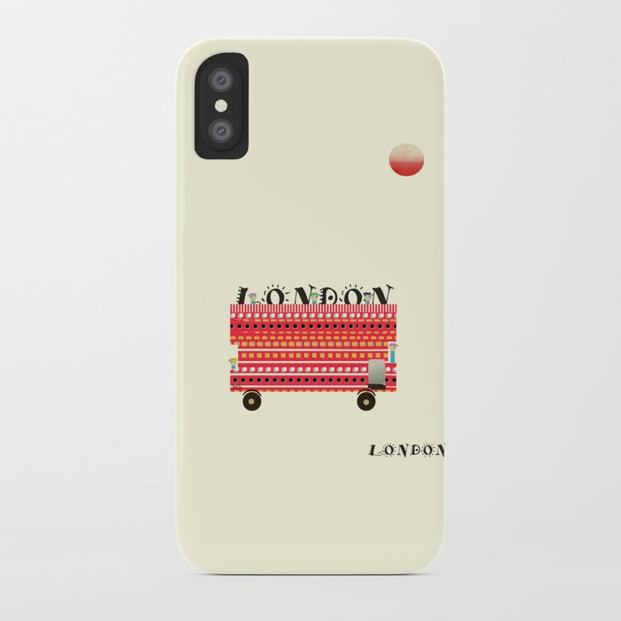 london mini icon  iPhone Case