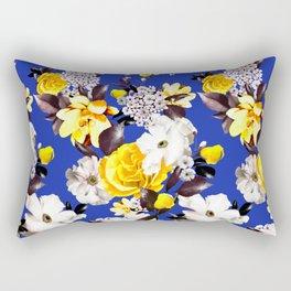 PHOTO Floral - D&G inspired - Yellow Rectangular Pillow