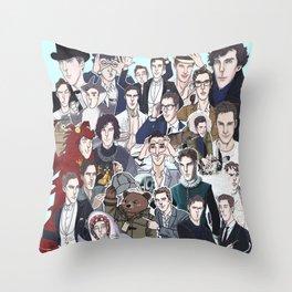 Benedict Cumberbatch 2014 Throw Pillow