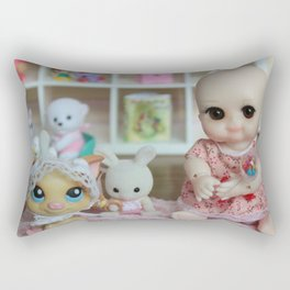 ** Baby Girl ** Rectangular Pillow