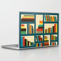 library Laptop & iPad Skins featuring library by vitamin