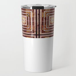 Metal and paper screen Travel Mug
