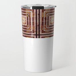Metal and paper screen Travel Mug