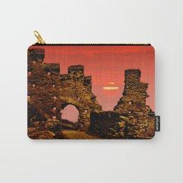 Sun Set Castle Carry-All Pouch