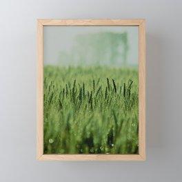 Crop Framed Mini Art Print