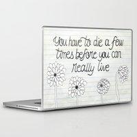 bukowski Laptop & iPad Skins featuring Bukowski by Larissa
