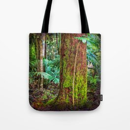 New and old rainforest growth Tote Bag