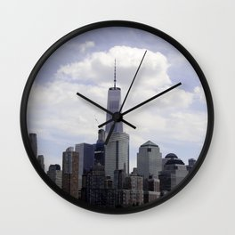 NYC Skyline Wall Clock
